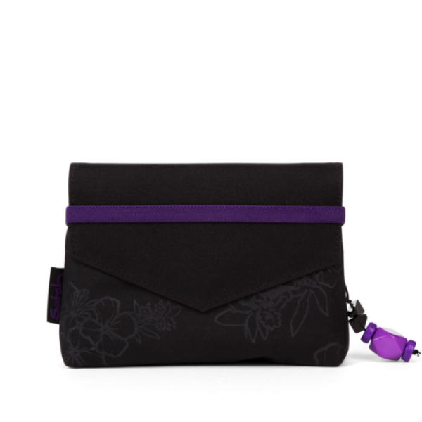 Clutch 9C6 Purple Hibiscus
